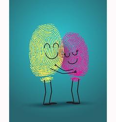 Finger love vector