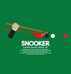 Snooker Competition vector image vector image