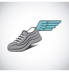 sport running shoes vector image vector image