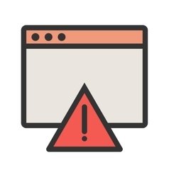Warning on browser vector