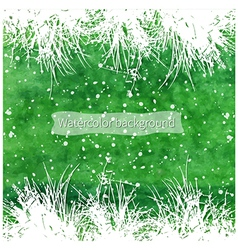 White grass vector