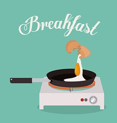 Breakfast design vector