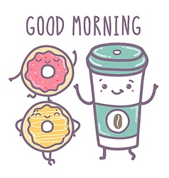 - Good morning vector image