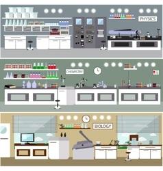 Laboratory Science lab vector image vector image