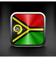 Vanuatu icon flag national travel icon country vector