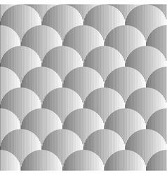 Design seamless volumetric sphere pattern vector