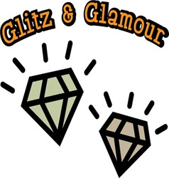 Glitz and glamour vector