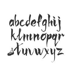 Handwritten ink marker or vector