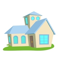 House icon cartoon style vector