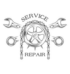 Service maintenance and repair vector