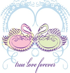 True Love Forever vector image
