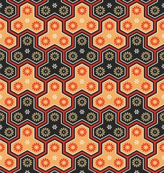 Japanese seamless pattern vector
