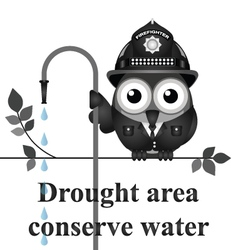 Drought area vector