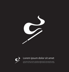 isolated aromatic stick icon smell element vector image