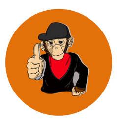 Monkey good vector