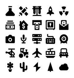 Polit icons 2 vector