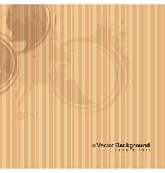 Spots of a cup of tea vector
