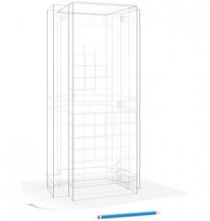 Building sketch vector