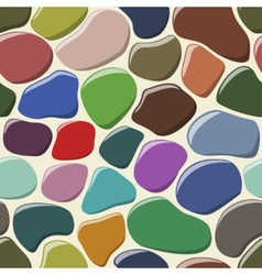 Cobblestone seamless background vector