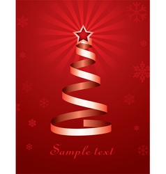 Christmas holiday tree vector