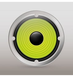 Music speaker equipment and technology vector