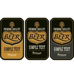 Set labels for beer vector