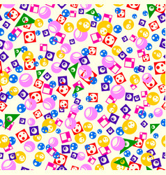 Different colorful shapes vector