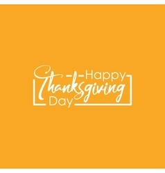 Happy thanksgiving day with vector
