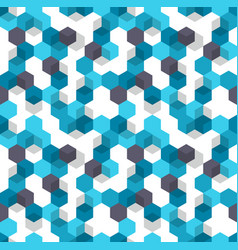 honeycomb background seamless pattern of vector image