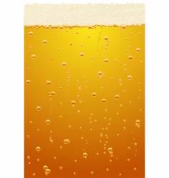 beer texture vector image