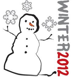 Winter 2012 vector