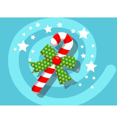 Candy icon christmas vector