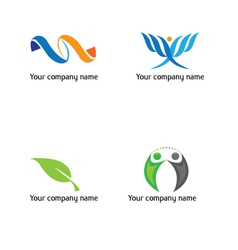 Life-and-green-logo vector