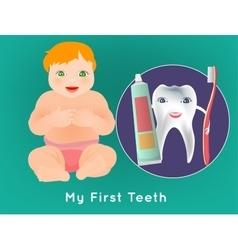 My first teeth vector