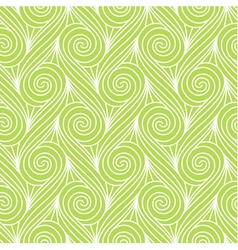 Repeating linear swirls seamless pattern vector