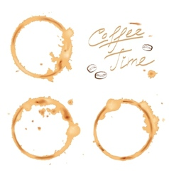 Traces coffee vector