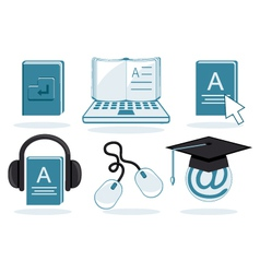Electronic Education vector image