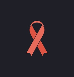 AIDS computer symbol vector image