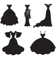 dress set vector image vector image