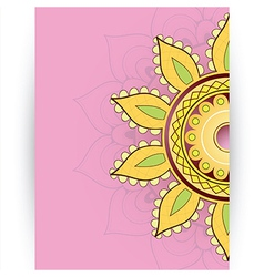 Greeting card design with copy space vector