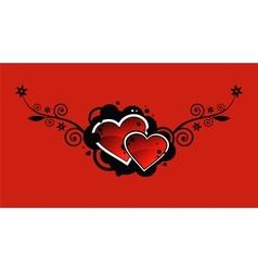 hearts2 vector image vector image