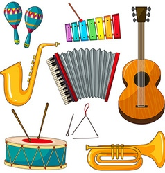 Instruments vector image vector image
