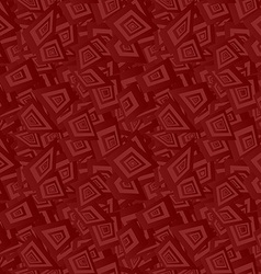 Maroon seamless irregular rectangle background vector