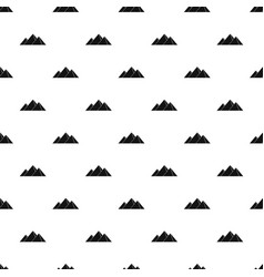 Pyramids in giza pattern vector