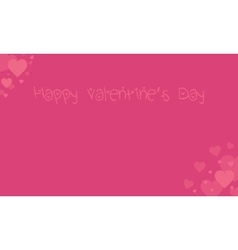Happy valentine day card backgrounds vector