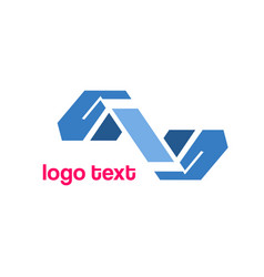 Hand icons logo symbol vector