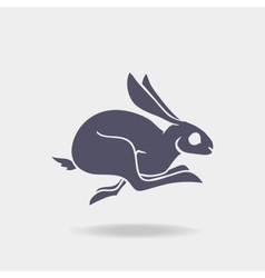 Fst rabbit logo vector image