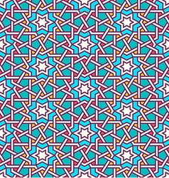 Tangled pattern based on traditional islam pattern vector