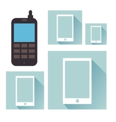 Technology electronic device vector
