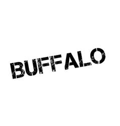 Buffalo rubber stamp vector
